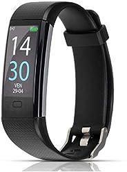 ITALNIC Orologio Fitness Activity Tracker Smartwatch Bluetooth Uomo Donna Saturimetro Cardiofrequenzimetro da