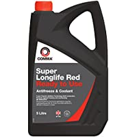 Comma SLC5L Super Red Ready to Use Antifreeze and Coolant, 5 Litre - ukpricecomparsion.eu