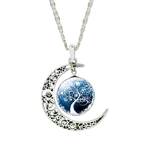 femmes-vintage-creux-crescent-moon-branch-perlee-laiteuse-dangle-pendentif-chaine-collier-tour-de-co