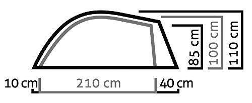 SALEWA Litetrek Ii Tent, Lightgrey/Cactus, 41-43 - 3