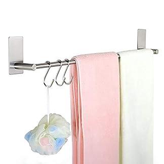 Barra de toalla auta-adhesivo del carril de toalla del acero inoxidable para el dormitorio del cuarto de baño de la cocina