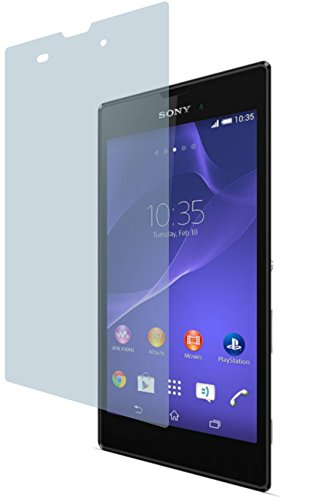 Sony Xperia T3 Style D5103 (2 Stück) PREMIUM Displayschutzfolie Bildschirmschutzfolie ANTIREFLEX von 4ProTec - KRATZFEST UND PASSGENAU