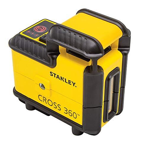 Stanley STHT77504-1 - Nivel láser Cross 360º rojo + 1 linea vertical, 20 m