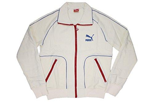 Puma Edition Track Jacket Herren Sportjacke retro beige sweatshirt zipper, Bekleidungsgröße:M (Retro Track)