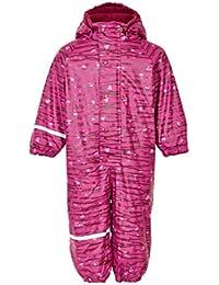 Celavi Regenanzug mit Fleece und Kapuze - Very Berry - Größe: 80