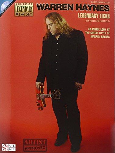 Warren haynes legendary licks +CD (Guitar Legendary Licks)