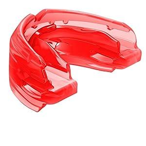 Shock Doctor Double Guard Sport, Unten und Oben Schutz Ihre Zähne & Hosenträger Hosenträger Mund Beim Spielen Fußball, Lacrosse, Basketball, Boxen, MMA, Jiu Jitsu, Jugend und Erwachsenen Größen