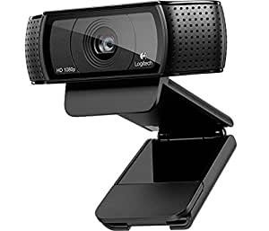 Logitech HD Pro C920 WebCam Full HD 1080p con Autofocus e Microfono Integrato