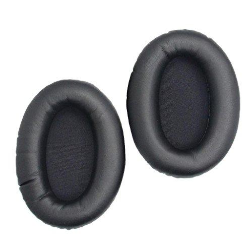 Baoblaze 110x90x50mm Almohadillas de Auriculares, 4 Colores Seleccionables, para Kingston Cloud II - Negro