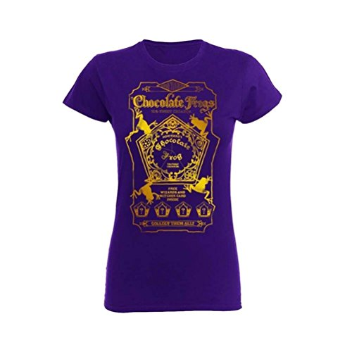 Officially Licensed Women's Harry Potter Chocolate Frogs T-Shirt | Sizes S-XXL