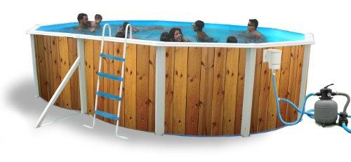 Piscina Toi Veta 550x366x120 cm. Con Kit Estate