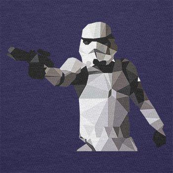 TEXLAB - Poly Gun Trooper - Herren Langarm T-Shirt Navy