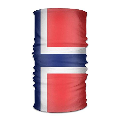 Pengyong Norwegen groß Flagge Unisex Fashion schnelltrocknend Mikrofaser Kopfschmuck Outdoor Magic Schal Hals Hals Schal Kapuzen Schal Super Soft Griff Fashion Unisex Schal