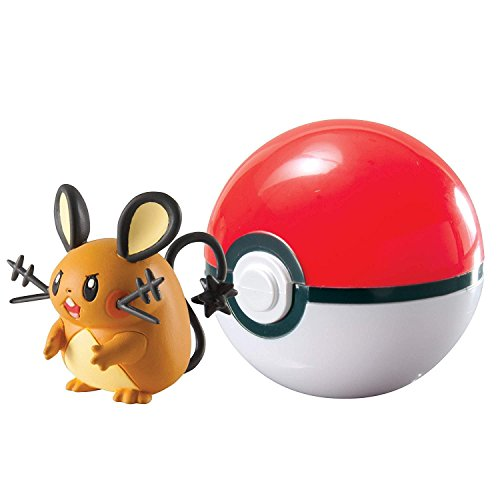 Pokémon T18532 - Pokeball für Unterwegs (sortierte Farbe)