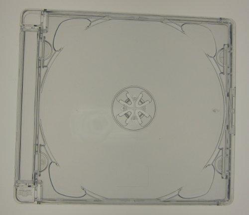 Kronenberg24 Super Jewel Box SJB Profi CD Hüllen transparent - 50 Stück