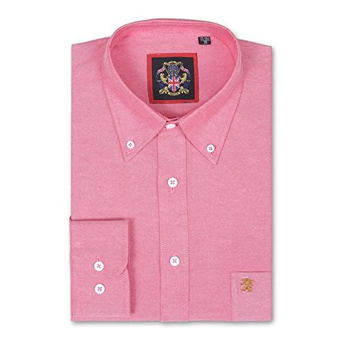 janeo-mens-shirts-camicia-classiche-uomo-crayola-red-large