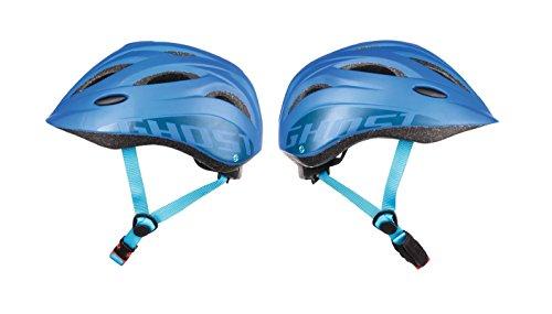 Ghost Kids Helm - in blau/blau - Größe 52-56 cm - Kinder-Fahrradhelm