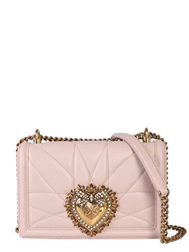 Luxury Fashion | Dolce E Gabbana Donna BB6652AV96780412 Rosa Borsa A Spalla | Autunno Inverno 19