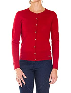 Carrera Jeans - Chaqueta De Punto 893A0241A para mujer, color liso, ajuste regular, manga larga