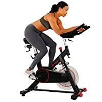 Sunny Health & Fitness Unisex Adult SF-B1805 Magnetic Indoor Cycling Bike - Black, One Size