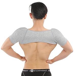 ENCOCO Winter Schulterstütze Wärmer Thermal Brace Protect Belt Strap Wrap für Männer, Frauen