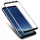 E-Axes™ Tempered Glass, Anti-Scratch Screen Guard Protector For Samsung Galaxy S9 (Black)