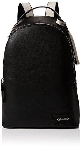 Calvin Klein Urban Backpack, Sacs à dos femme, Noir (Black), 15x40x28 cm (B x H T)
