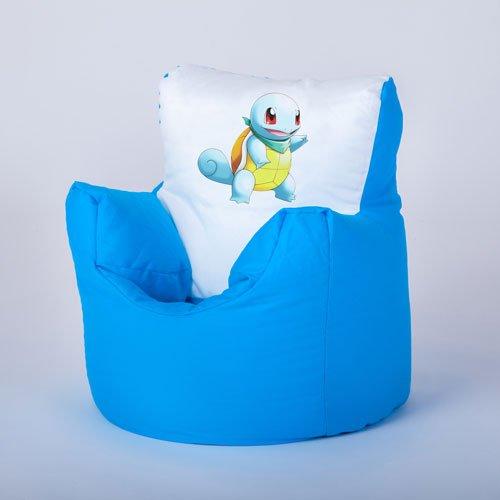 Boxify Pokémon Skirtl Impression par Transfert pour Enfant pour Enfant Personnage Pouf Chaise Longue