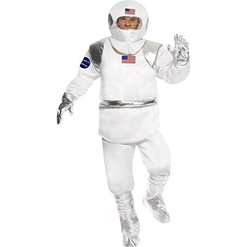 Astronauten Kostüm Spaceman Astronautenanzug M 48/50 Anzug Astronaut Astronautenkostüm Space Man Raumanzug Raumfahrer (Spaceman Anzug Kostüme)