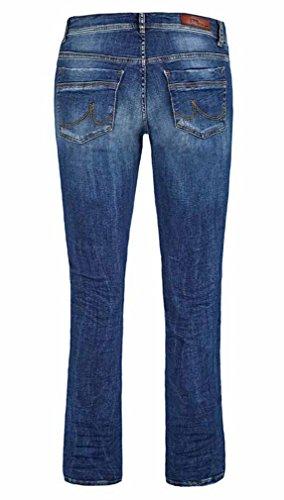 LTB Damen Jeans Valerie - Bootcut - Blau - Ceciane Wash, Größe:W 24 L 30;Farbe:Ceciane Wash (50359) -