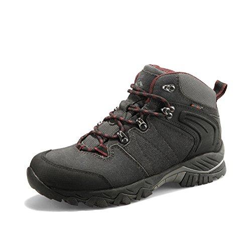 Clorts, Chaussures Montantes pour Homme - Gris - Gris/Noir, 39