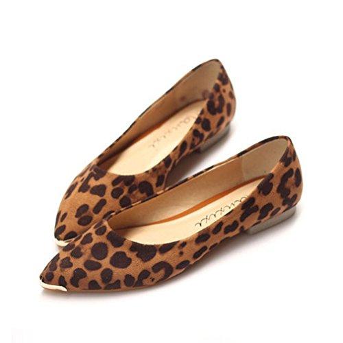 XTIAN - Mocassini Donna leopardo