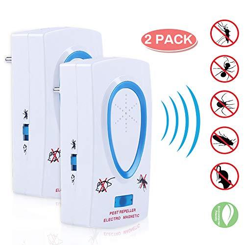 Repellente ad Ultrasuoni, Ultrasuoni Repeller, Repellente Contro Parassiti, Repellente Elettronico per Zanzara,...