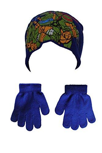 nickelodeon-set-de-bufanda-gorro-y-guantes-para-nino-multicolor-azul-52-cm