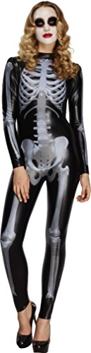 Imagen de smiffy's  disfraz para mujer con diseño esqueleto, talla m 43838m
