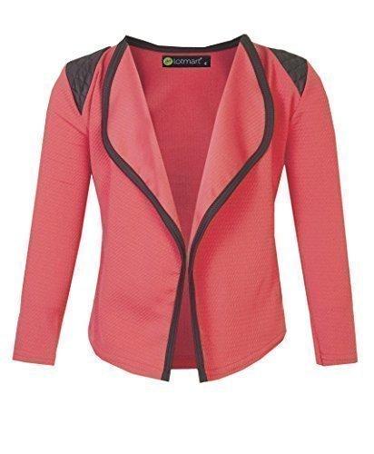 2775 Coral 3-4 Y Girls Blazer Jacket
