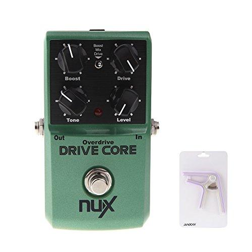 NUX unità Core Chitarra Elettrica Effetto Pedale Miscela di Boost e Overdrive Sound True Bypass - Effetti Pedale Boost