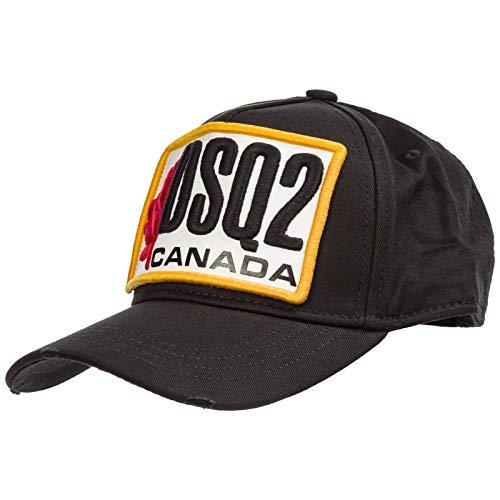 DSQUARED2 | DSQ2 BCM0245 Patch Canada Baseball Cap - Black Black