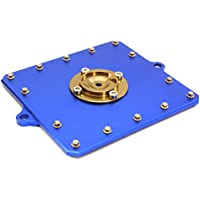 INTEGY RC Model Hop-ups obm-1323blue CNC Machined Alloy Fuel Cell Cover for Axial 1/10Scale Yeti Rock Racer