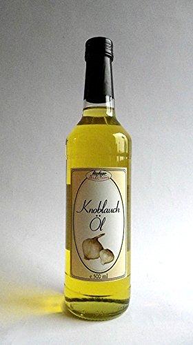 Gourmet Knoblauch-Öl 500 ml - Keine Industrieware - Feinkost - 1a Qualität