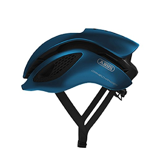 Abus Gamechanger Aero-Helm Fahrradhelm, Steel Blue, M