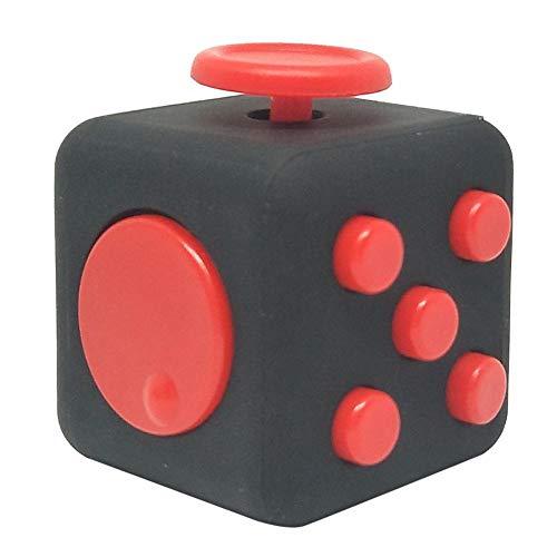 Adminitto88 Fidget Cubes Juguete con Click Ball Anti-Stress, Cube Desk...