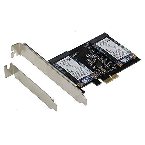 SEDNA - Adattatore PCI Express Dual SSD mSATA III (6