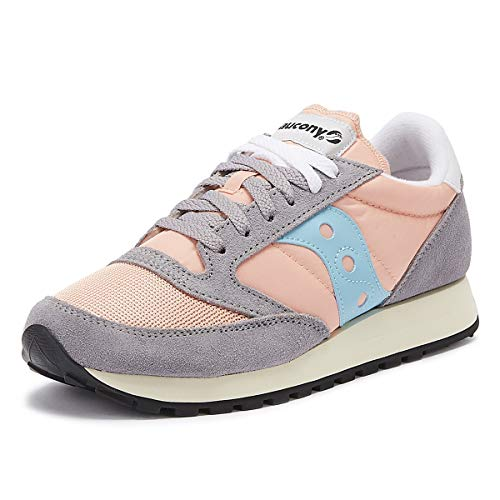 lowest price 369b9 03dfe Saucony Jazz Original Vintage, Zapatillas para Mujer, (Peach Grey Blue 71