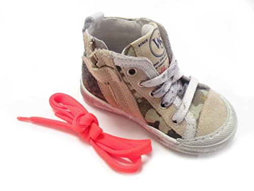 Walk Safari , Baskets pour garçon Beige