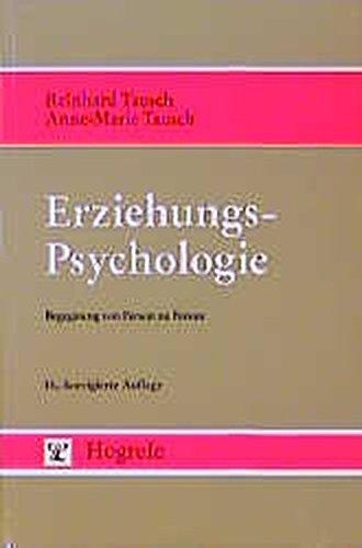 Erziehungspsychologie: Begegnung von Person zu Person