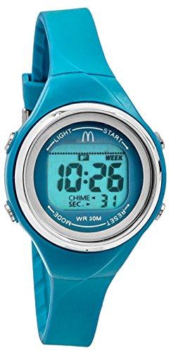 mcdonald-femme-sportech-bleu-bain-fin-bande-resistant-a-leau-sport-montre-mdw10708