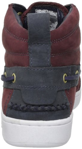 Sebago Wentworth Mid, Boots homme Multicolore (Blk Cherry/Navy)