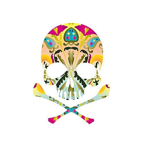 Apple iPhone SE Case Skin Sticker aus Vinyl-Folie Aufkleber Decorative Skull Totenkopf Schädel DesignSkins® glänzend