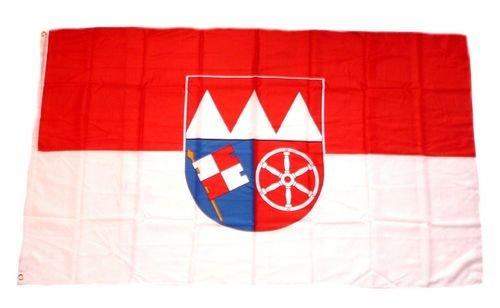 Fahne / Flagge Unterfranken 60 x 90 cm